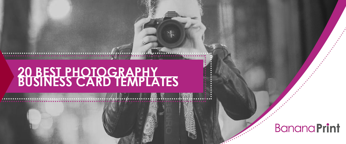 20 Best Photography Business Card Templates [Free Samples]