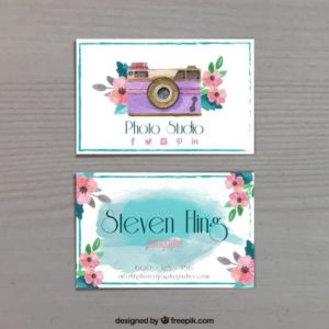 photography-business-card-watercolour-style