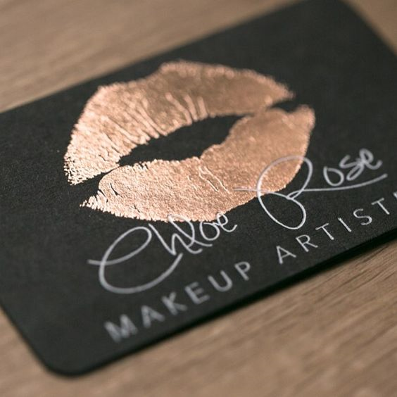gold-lips-business-card