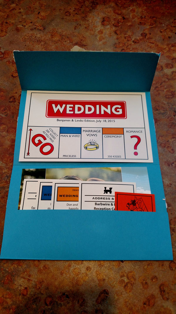 30 incredible wedding invitation card design ideas board games design stopboris Image collections