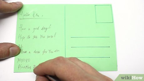 Everything You Need To Know To Make a Postcard