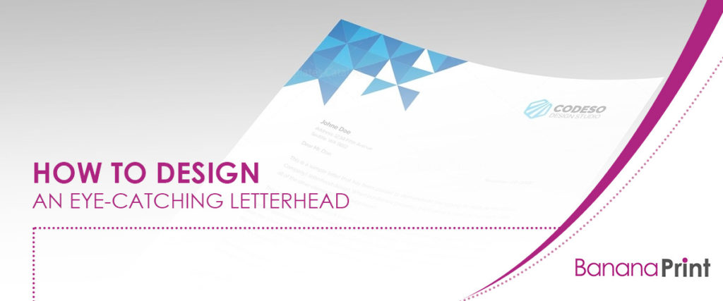 How to Design an Eye-Catching Letterhead