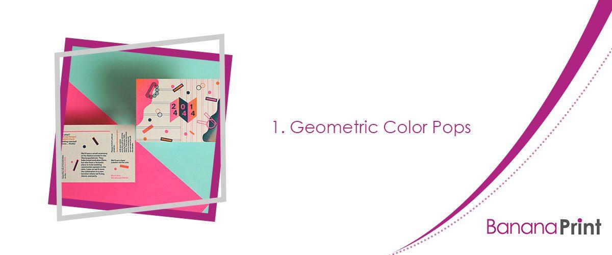 Geometric Color Pops